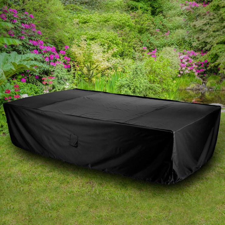 rectangular patio furniture covers. Gardman 8-10 Seater Rectangular Patio Furniture Cover - Model 35622 Covers .