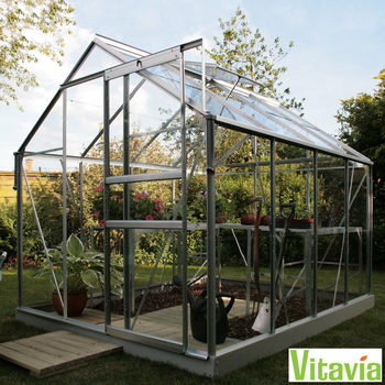 "Vitavia Vermont 5000 6ft 2"" x 8ft 5"" (2 x 2.6m) Greenhouse Package"