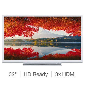 Toshiba 32W3754DB 32 Inch HD Ready Smart TV