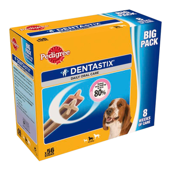 Pedigree Dentastix Daily Oral Care For Medium Dogs, 56 pack