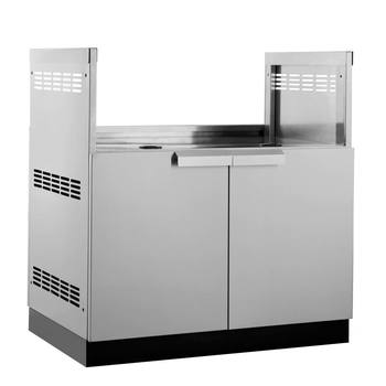 "NewAge Outdoor Kitchen 18 Gauge Stainless Steel 33"" (84cm) Insert Grill Cabinet"
