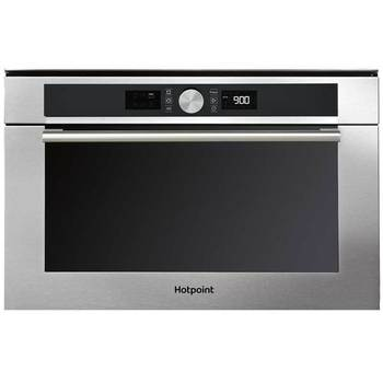 Hotpoint MD 454 IX H Built-in Combi Microwave in Stainless Steel