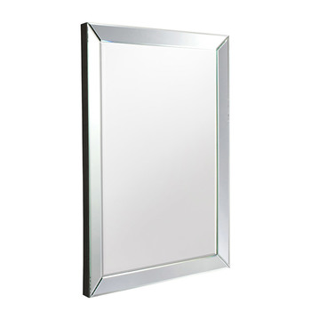 Gallery Luna Rectangular Mirror, 92cm x 61cm