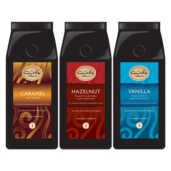 Smiths Coffee Co. Flavoured Artisan Ground Coffee Selection, 3 x 227g