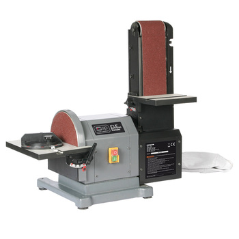 "SIP 230 Volt 4 x 8"" Belt And Disc Sander With Dust Extraction - Model 01946"
