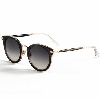 Jimmy Choo Grey Glitter Sunglasses with Grey Lenses, RAFFY/S QA89C