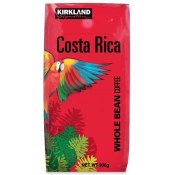 Kirkland Signature Costa Rica Whole Bean Coffee, 908g