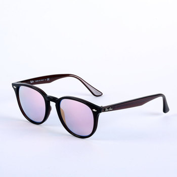 Ray-Ban Brown Sunglasses with Blue Mirrored Lenses, 4259 6231/1N