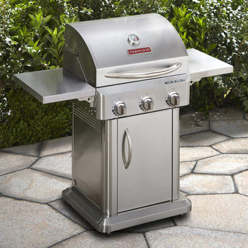 Hudson Grills 3 Burner 304 Grade Stainless Steel Gas BBQ + Cover