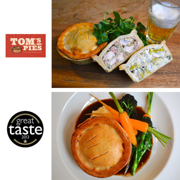 Tom's Pies Chicken Pie Selection, 12 x 260g (Serves 12 people)