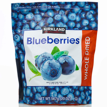 Kirkland Signature Whole Dried Blueberries, 567g
