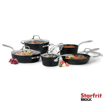 Starfrit The Rock Induction 10 Piece Cookware Set