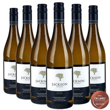 Jackson Estate Stich Sauvignon Blanc 2016, 6 x 75cl