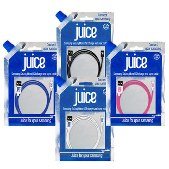 Juice Micro USB Charge and Sync Cable in 4 Colours