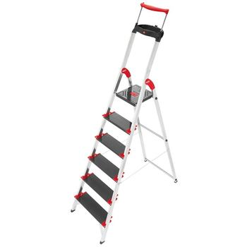 Hailo XXR 225 ChampionsLine 6 Tread Extra Deep Step Ladder