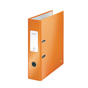 Leitz A4 Orange Lever Arch 80mm Folder - Pack of 10