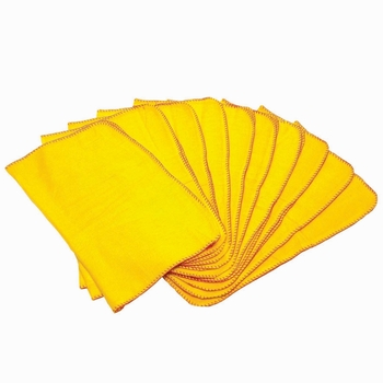 Maxima Yellow Duster - 10 Pack
