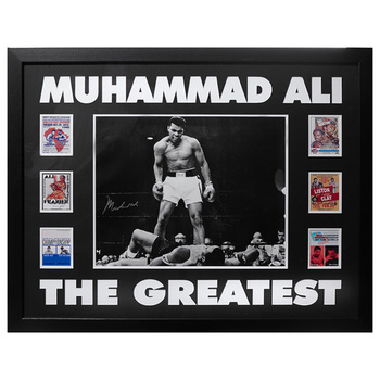 Muhammad Ali Signed Framed Photo