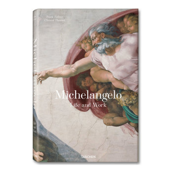 Michelangelo Life and Works Book, Frank Zollner & Christof Thoenes, Taschen