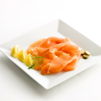 Coln Valley Traditionally Smoked Salmon D Cut, 2 x 500g (Serves 8-10 people)