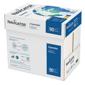 Navigator Expression A4 90gsm White Box of Paper - 2500 sheets