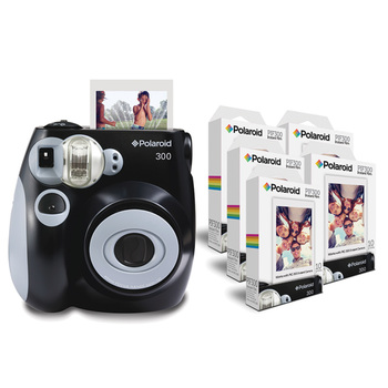 Polaroid PIC 300 Camera & PIF 300 Paper Bundle in 3 Colours