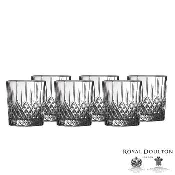 Royal Doulton Earlswood Crystal Tumblers, Set of 6