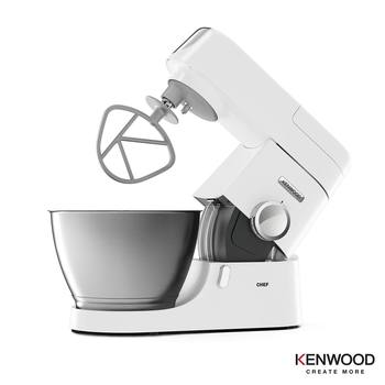 Kenwood Chef Stand Mixer, 4.6L, KVC3100W in White