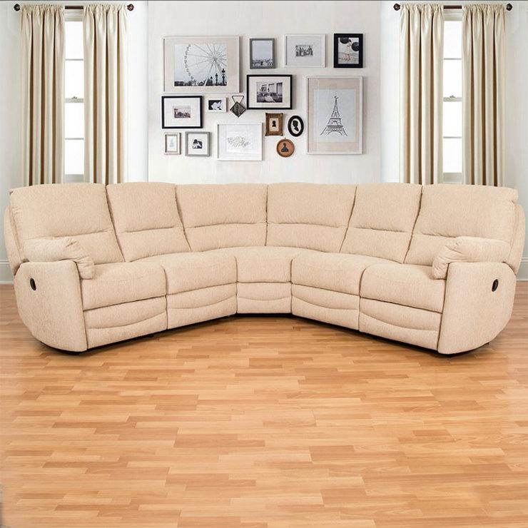 Buoyant Minster Fabric Power Recliner Corner Sofa | Costco UK