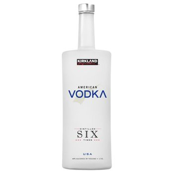 Kirkland Signature Six Times Distilled American Vodka, 1.75L