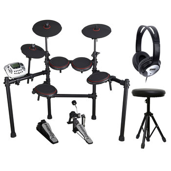 Carlsbro CSD180 Electric Drum Kit with Accessories