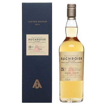 Auchroisk 25 Year Old Single Malt Scotch Whisky: Special Release 2016, 70cl