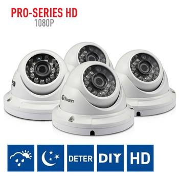 Swann PRO-T854 Full HD Dome Cameras Quad Pack