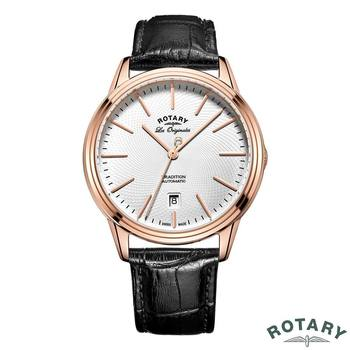 Rotary Tradition Gents Rose Gold Swiss Watch GS90164/02