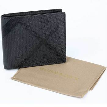 Burberry London Checked Billford Wallet