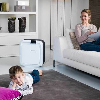 Boneco Hybrid Humidifier and HEPA Air Purifier H680, 100m²