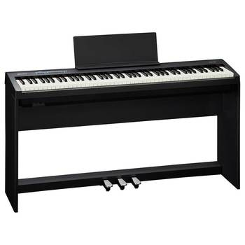 Roland FP-25 Digital Piano with Piano Stand