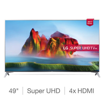 LG 49SJ800V 49 Inch Super UHD Smart TV