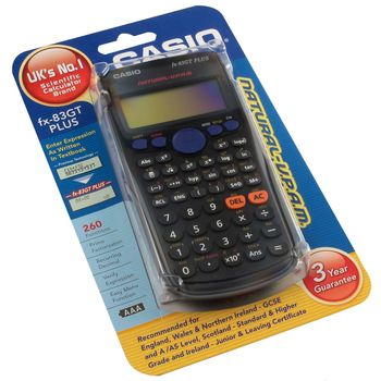 Casio FX-83ESPLUS Scientific Calculator FX-83GTPLUS-SB-UH