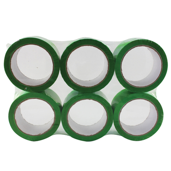 Polypropylene Tape 50mm x 66m Green MA99711