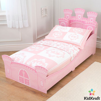 KidKraft Princess Castle Toddler Bed (18+ Months)