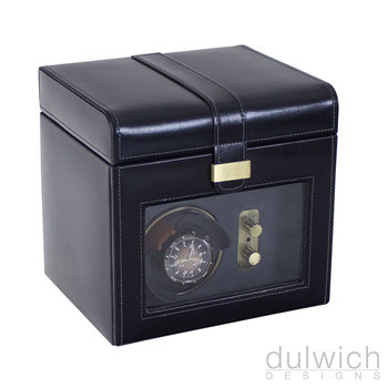 Dulwich Designs Leather Heritage Single Watch Rotator in 2 Colours