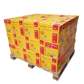 Navigator Colour Documents A4 120gsm White Pallet of Paper - 60,000 sheets