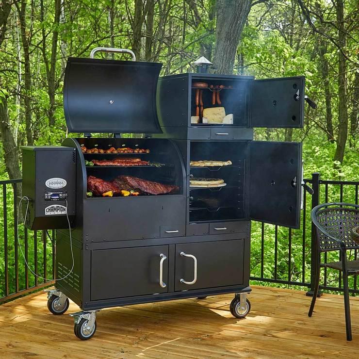 Louisiana Grills Champion Wood Pellet Grill and Smoker | Costco UK