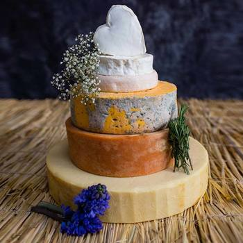 6-Tier Artisan Cheese Celebration Cake, 12.23kg (Serves 120-160 People)