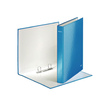 Leitz A4 Plus Blue 25mm 2D-Ring Binder - Pack of 10