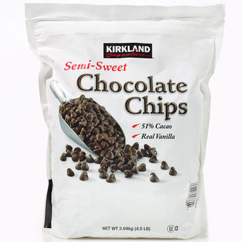 Kirkland Signature Chocolate Chips, 2.04kg