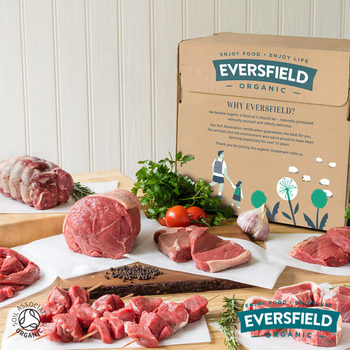 Eversfield Organic Finest Beef and Lamb Selection Box, 4.39kg