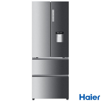 Haier B3FE742CMJW A+ Rating Multi Door Fridge Freezer in Silver