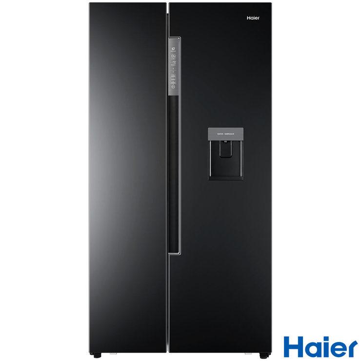 haier hrf 522ib6 a rating side by side fridge freezer in. Black Bedroom Furniture Sets. Home Design Ideas